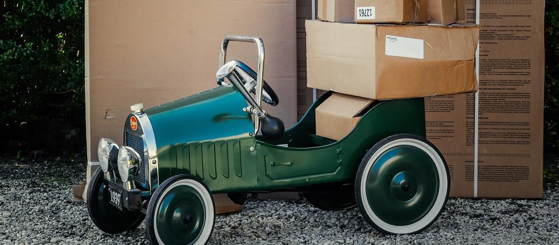 Ökologische Verpackungen ökologisch transportiert - geht das?